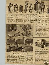 1948 PAPER AD Lighter Zepphyr Zippo Regens Nimrod Lektrolite Evans Flameless