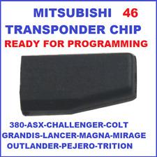 ID46 MITSUBISHI TRANSPONDER CHIP LANCER MAGNA MIRAGE OUTLANDER PEJERO TRITON key