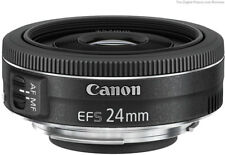 Canon EFS 24mm F2.8 STM Pancake Wide Angle Lens Brand New jeptall