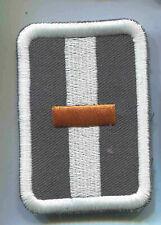 Rot Kreuz Dienstgradabzeichen DRK  50 x 70 mm ohne Klett 2 Stück  (St306)