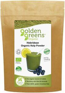Organic KELP Powder 100g - Wild Harvested from Pristine Hebridean Sea Lochs