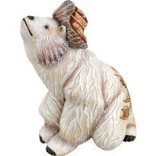 Polar Bear G DeBrekht Figurine Aurora Forest Family Series Hat Eskimos Reindeer