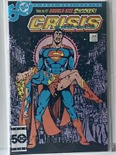 """CRISIS ON INFINITE EARTHS #7 VF """"DEATH"""" OF SUPERGIRL OCT 85 DC COMICS ITEM:17963"""