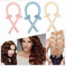 Heatless Curling Rod Headbands Hair Roller Silk Curling Ribbon Silk CurliRS