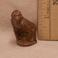 Wade England Red Rose Tea Gorilla Figurine Dark Brown Wavy Fur