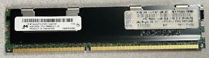 Micron 4GB 2RX4 PC3-10600R-9-11-J0 Server Memory  MT36JSZF51272PZ-1G4G1HF