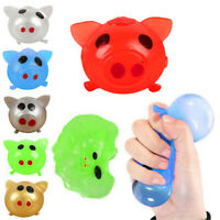 Jello Pig Cute Anti Stress Smash Squeezing Pig Ball Vent Toy Venting Sticky Gift