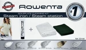 Rowenta Soleplate Cleaning Kit - Can Be Used to Clean All Types of Soleplates