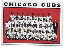 1964 Topps Chicago Cubs Team Card No. 237 Ron Santo Ernie Banks Sharp!