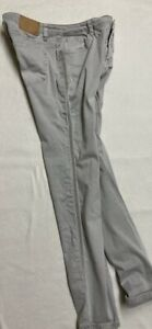 OPUS Evita Silver Beads  Gr. 40 Jeans slim Röhre stretch grau