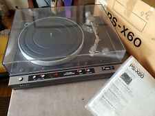 SONY PS-X60 TURNTABLE EXCELLENT *Original Box* WORKS GREAT
