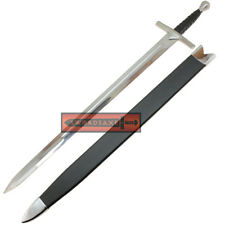 15th Cent Hand-And-A-Half Full Tang Tempered Battle Ready Forged Medieval Sword