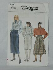 Vogue Very Easy Skirt Size 8 - 10 8528