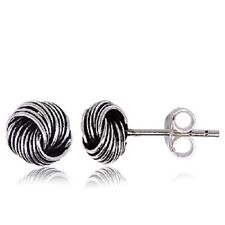 Celtic Sterling Silver Knot stud earrings