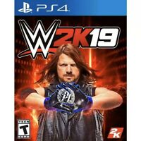 WWE 2K19 (Sony PlayStation 4 PS4) Brand New Factory Sealed
