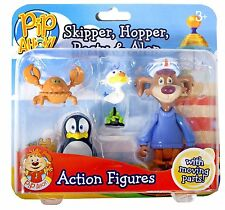 Pip Ahoy! Skipper/Scatola/pallido e Alan Action Figure