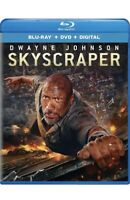 Skyscraper (Blu-ray) Movie. Dwayne Johnson. New/Sealed