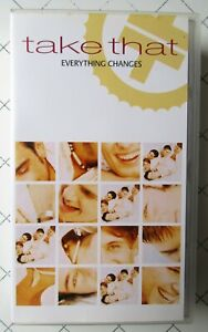 Take That Everything Changes VHS Video Tape 1994~Music~Pop~Boy Band