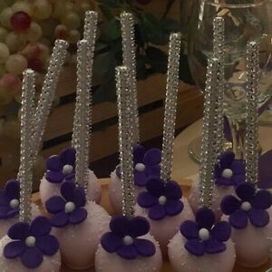 Wedding and Engagement Party Candy Sticks Skewers for Sweets Buffet Decorative