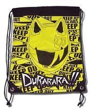 *New* Durarara! Celty Keep Out Drawstring Bag