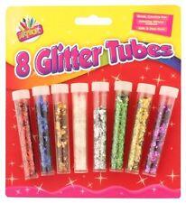 Agitatore GLITTER tubi / vasi pacco di 8 ART BOX 6087