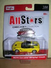Maisto All Stars 2014 Corvette Stingray Messemodell Spielwarenmesse 2014, 1:64
