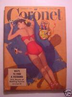 CORONET August 1949 ZIEGFELD Follies LEWIS CARROLL JAMES LOCKHART ESKIMOS +++