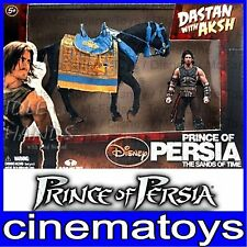 DISNEY PRINCE OF PERSIA DASTAN A CAVALLO MCFARLANE BOX