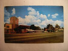 Vintage Photo Postcard Drake Hotel Court And Restaurant Chattanooga Tenn. 1957