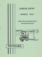 Promark Aerial Lift/Manlift/Boomlift PAL Manual