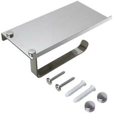 Wall Mounted Stainless Steel Metal Mobile Phone Shelf Toilet Paper Roll Holder