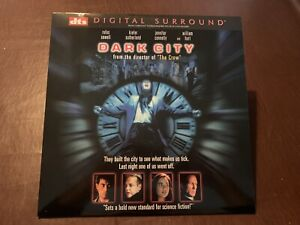LASER DISC DTS DIGITAL SURROUND DARK CITY NEW LINE HOME VIDEO LASERDISC