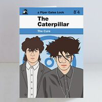The Cure Ltd Edition A5 The Caterpillar Greeting/Birthday Card Robert Smith Goth