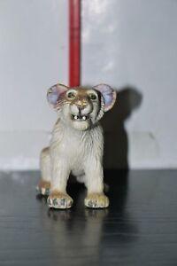 """1999 LION CUB KIDCENTIVE 2"""" PVC MINI FIGURE solid plastic toy ANIMAL USED"""
