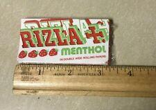 Rizla Strawberry Menthol Cigarette Rolling Paper Rare Original Vintage Find MINT