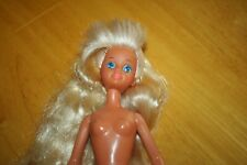 Skipper Barbie Doll-NUDE-Bangs Standing Up-Used