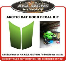 1998 ARCTIC CAT ZR Center Hood Vent  Decal Kit  , reproductions
