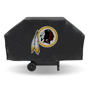 """Washington Redskins Vinyl Grill Cover [NEW] 68"""" Economy Wide Grilling Barbeque"""