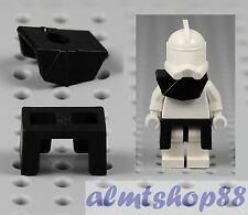 LEGO Star Wars - Black Armor Pauldron Kama Leg Plastic Clone Trooper Minifigure