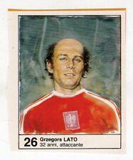 Figurina picture cards NEW IL GIORNALINO MUNDIAL 82 1982 N. 26 LATO