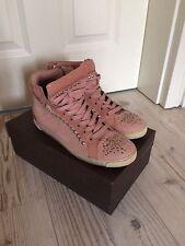Kennel & Schmenger Sneaker in rosé mit Swarovski-Steinchen, Gr. 38,5!