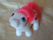My Little Pony g1 Baby Hugs White Valentine Twin Mail Order MLP Heart Rainbow