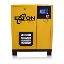 75 Hp Rotary Screw Air Compressor 3 Phase Dual Volt Fixed Speed
