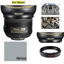 52mm ULTRA WIDE ANGLE MACRO HD16K LENS FOR Nikon AF-S DX NIKKOR 35mm f/1.8G Lens