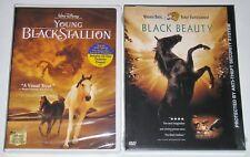DVD Lot of 2 - Black Beauty (New) Disney's Young Black Stallion (New)