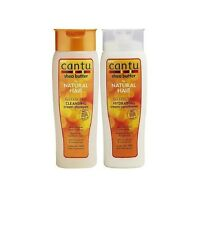 Cantu Shea Butter Sulfate free Cleansing Cream Shampoo & Cream Conditioner 400ml