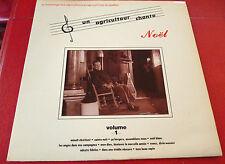 LP Album vinyl Un Agriculteur Chante Noël Volume 1 ! Stereo ADA Records Canada