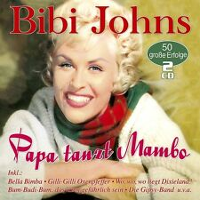 BIBI JOHNS - PAPA TANZT MAMBO-50 GROßE ERFOLGE  2 CD NEU