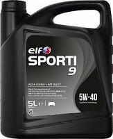 Elf Sporti 9 5w-40 High Performance Engine Oil - 1 Litre 1L