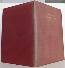 WILLIAM SHAKESPEARE Winter's Tale COMPLETE PLAY FROM THE SECOND FOLIO